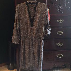 Vince silk dress
